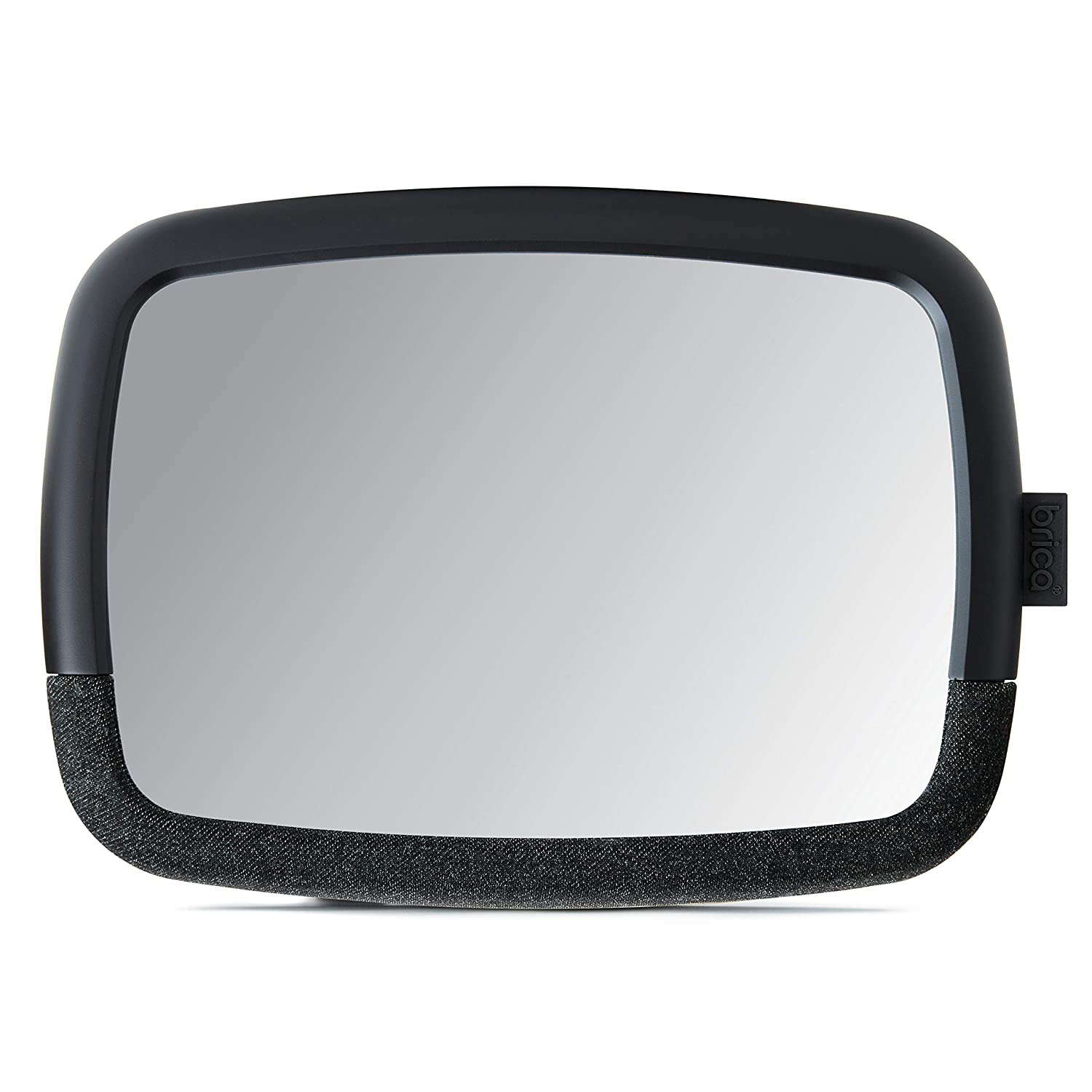 Munchkin Brica 360 Pivot Baby in-Sight Wide-Angle Adjustable Car Mirror, Crash Tested & Shatter Resistant, Black