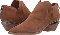 Dark Saddle Suede