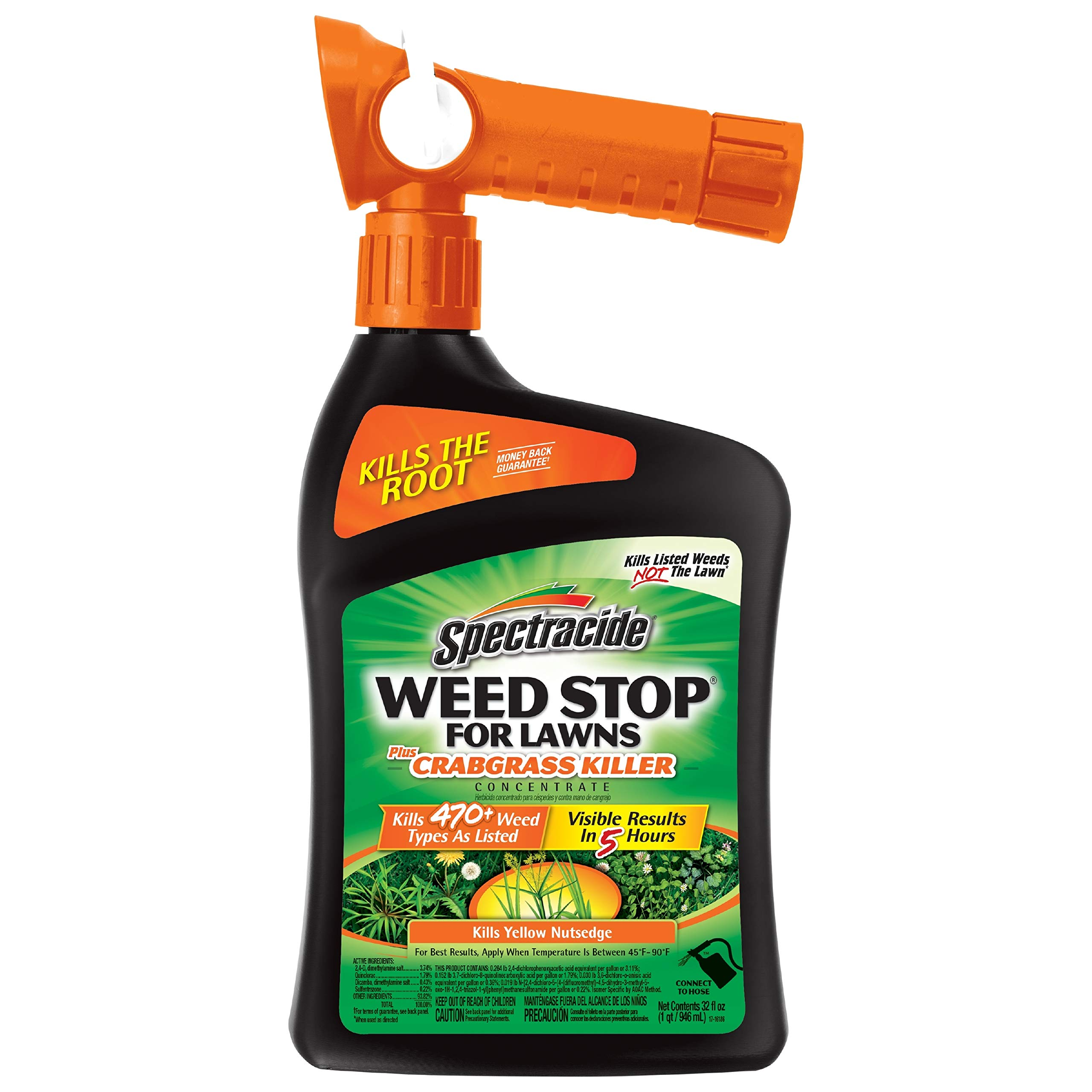 Spectracide Crabgrass Killer Concentrate 32 Ounce