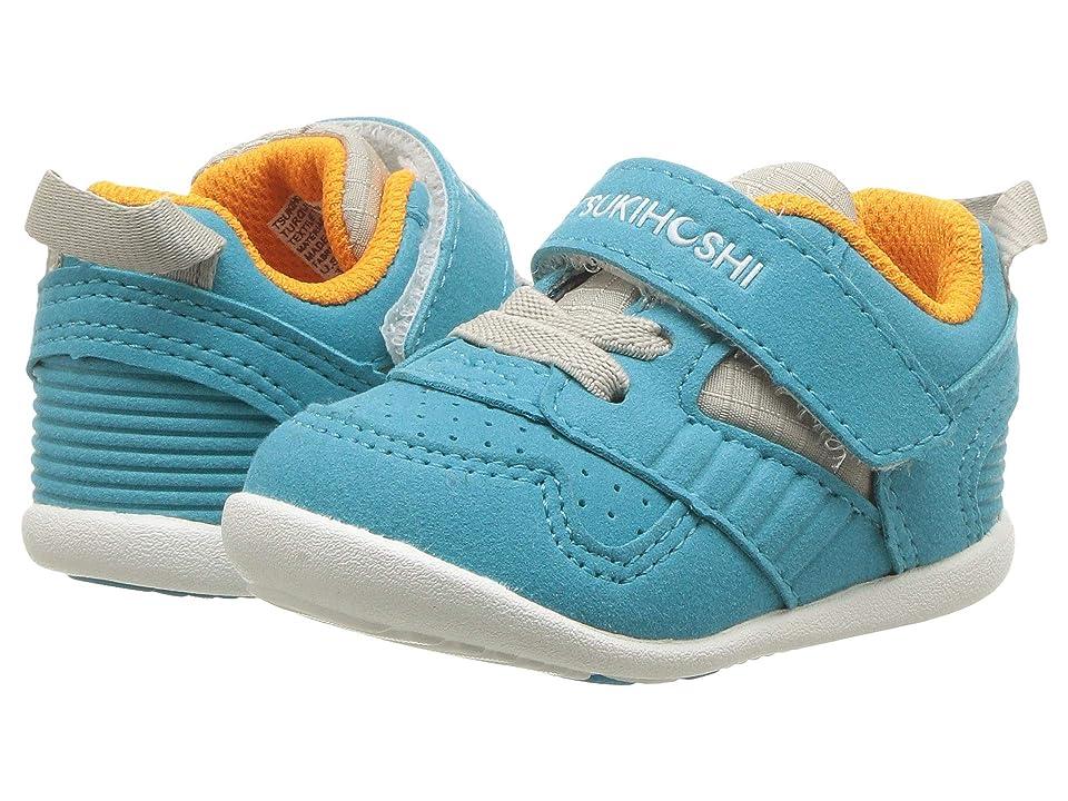 Tsukihoshi Kids Racer (Infant/Toddler) (Turquoise/Orange) Kids Shoes