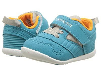 Tsukihoshi Kids Racer (Infant/Toddler) (Turquoise/Orange) Kids Shoes