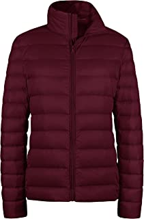 Wantdo Women's Packable Ultra Light Weight Short Down Jacket