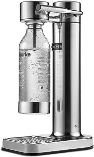 【国内正規品】[アールケ] AARKE Carbonator II/カーボネーターII [ソーダストリームガスシリンダー対応] 高級ステンレス製炭酸水サーバー/ソーダマシン ★専用ペットボトル付き