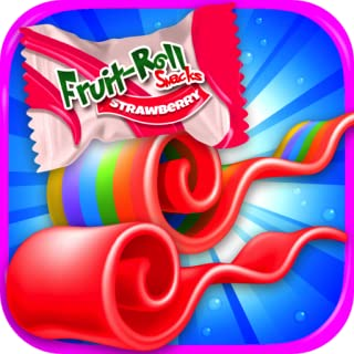 Fruit Roll Candy Maker - School Snacks Simulator & Kids Dessert Food Games FREE