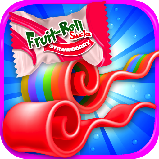 Fruit Roll Candy Maker - School Snacks Simulator & Kids...