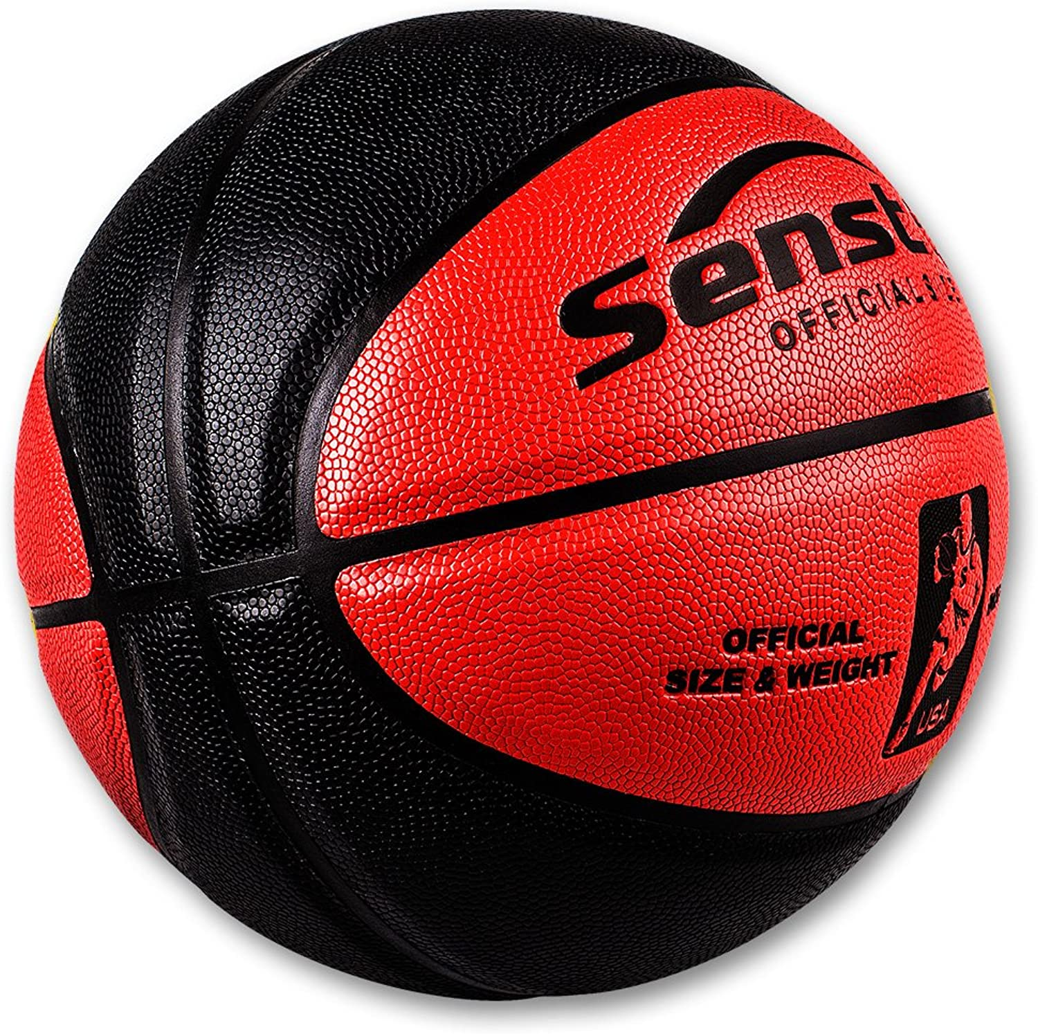 Senston PU Leather Basketball Ball Official Size 5 Size 7 Indoor Outdoor Basketball
