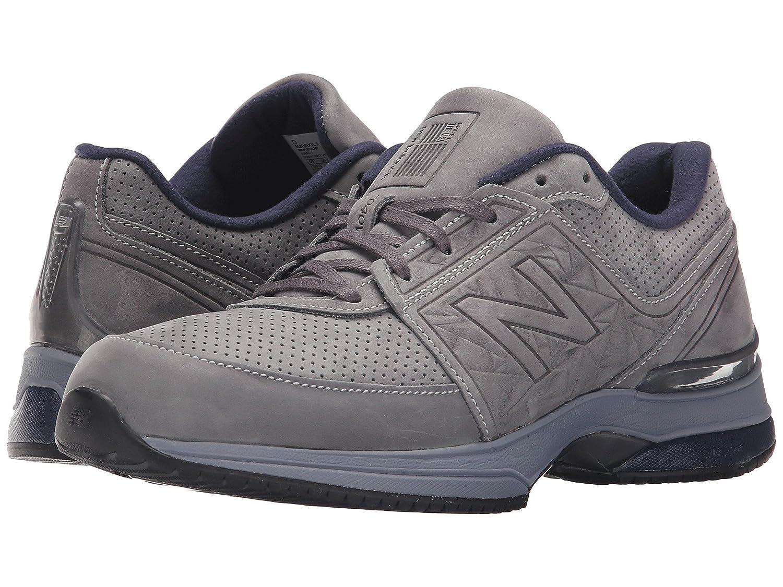 (ニューバランス) New Balance メンズウォーキングシューズ?靴 M2040 Grey/Navy 8.5 (26.5cm) EE - Wide