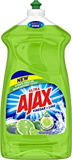 Ajax Ultra Liquid Dish Soap, Vinegar and Lime - 52 Fluid Ounce