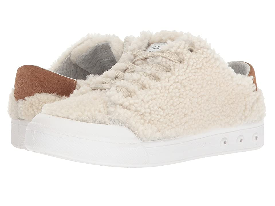 rag & bone Standard Issue Lace-Up (Ivory Shearling) Women