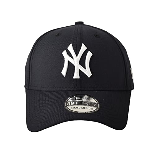 MLB New York Yankees Team Classic Game 39Thirty Stretch Fit Cap, Blue, Medium/