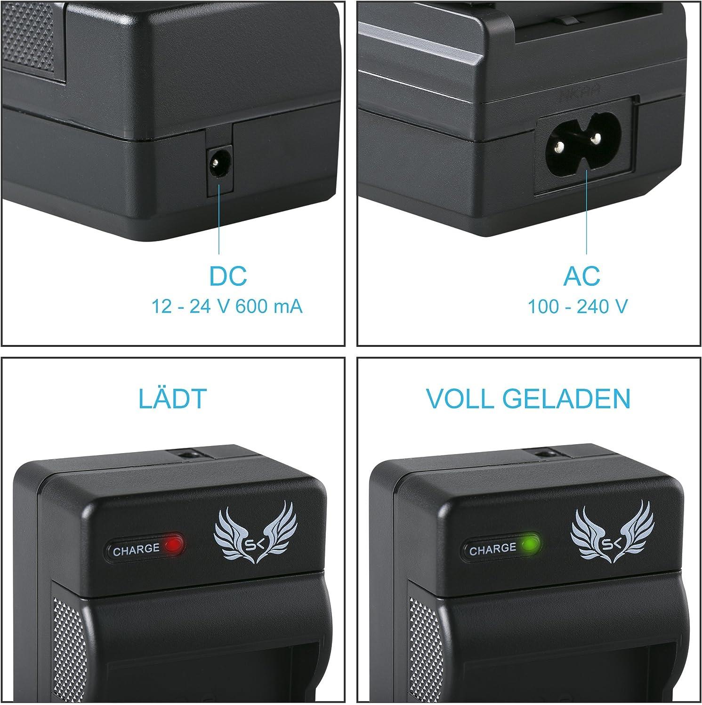 Kiss X50 X70 Rebel T3 T5 T6 SK LCD Dual Doppel Akku Ladeger/ät f/ür Canon LP-E10 ////// Canon EOS 1100D 1200D 1300D 2000D 4000D