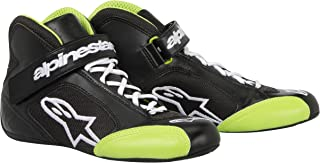 Alpinestars (2712013-16-4.5 Black/Green Size-4.5 Tech 1-K Karting Shoes
