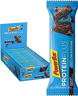 comprar comparacion Powerbar Protein Plus Low Sugar Chocolate Brownie - Barritas Proteinas con Bajo Nivel de Azucar - 30 Barras 1005 g