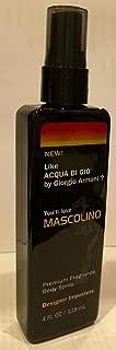 Mascolino, A Designer Imposters Premium Fragrance Body Spray, 4 FL OZ / 118mL