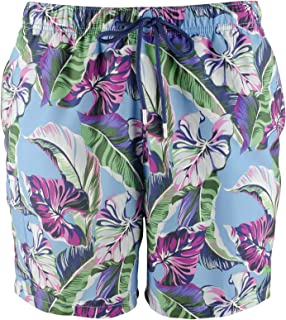 Tommy Bahama Mens Swimwear Blue US Size Small S Floral Trunk Shorts