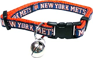 CAT COLLAR. - MLB Licensed Collar. - MLB PREMIUM CAT COLLAR. - Heavy-Duty, Strong, Durable & Adjustable BASEBALL CAT COLLAR one size fits most cats. - Available in 29 MLB TEAMS