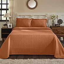 سوبيريور ملاءة سرير مع وسادة شام King BEDSPREAD FLEUR-KG-MN