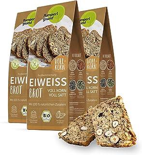 Pumperlgsund Brotbackmischung Eiweiß Brot, Bio und Glutenfrei 3 x Vollkorn, 17,55 €/kg