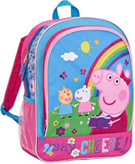 "Peppa Pig Nickelodoen ""Say Cheese"" School Backpack"