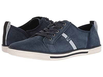Kenneth Cole Reaction Center Low (Navy Suede) Men