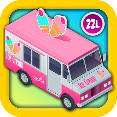 Kids Vehicles 2: Amazing Ice Cream Truck Adventure (Cupcake Maker, Counting Coins,...