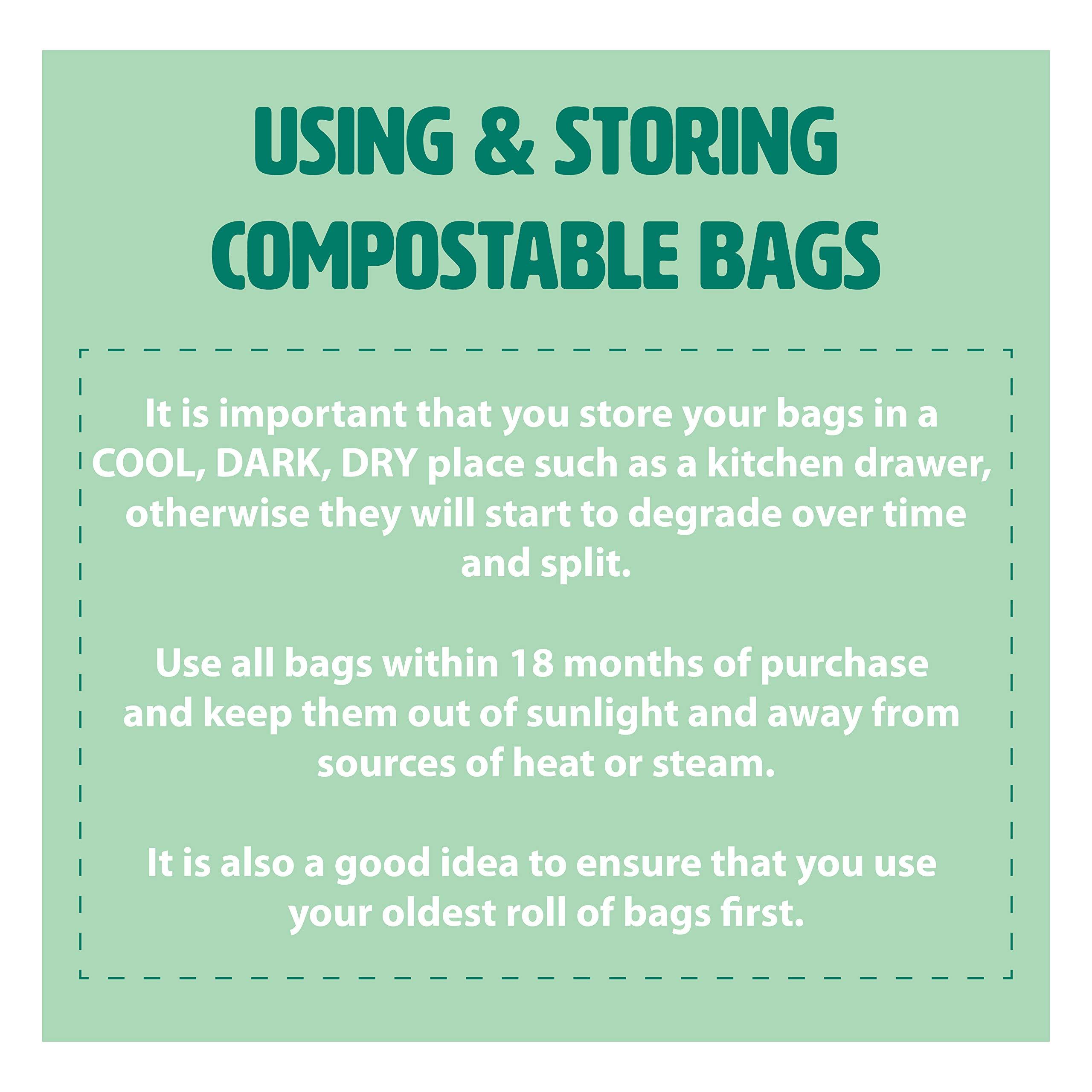 140 litros x 50 bolsas de basura biodegradables que las famosas ...