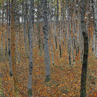 Posterazzi Poster Print Collection Beechwood N'Beechwood Forest (Buchenwald).' Oil on Canvas Gustav Klimt 1903, (24 x 36), Multicolored