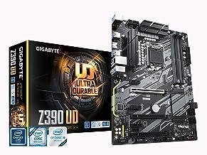 Gigabyte Z390 UD (Intel LGA1151/Z390/ATX/M.2/Realtek ALC887/Realtek 8118 Gaming LAN/HDMI/Gaming Motherboard) (Renewed)