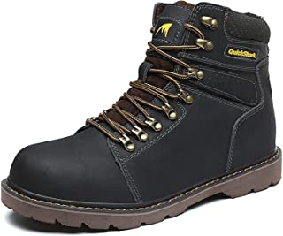 Sponsored Ad - Quickshark Men's Insulated Water-Resistant Hiking Winter Snow Boots
