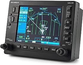 "RealSimGear GNS530 Bezel   Realistic GPS Hardware for Flight Simulators   Student Pilot Navigation System   5"" LCD Display Screen"