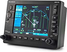 RealSimGear GNS530 Bezel | Realistic GPS Hardware for Flight Simulators | Student Pilot Navigation System | 5