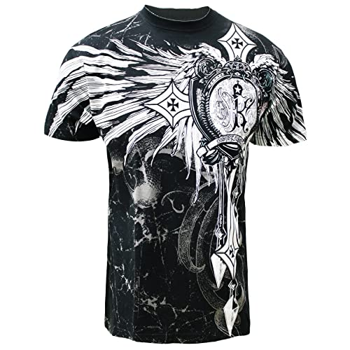 326fcd8c89 Cross Wing Men's MMA Muscle T-shirt