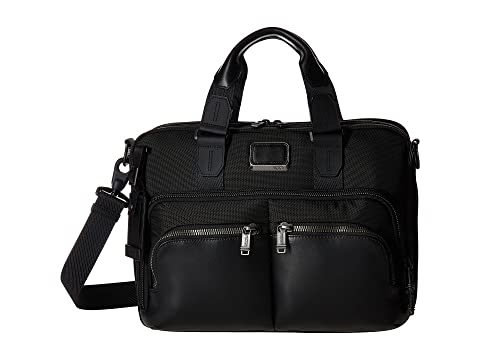 Tumi Bravo Albany Negro Commuter Alpha Slim Brief zzAfrq7xw