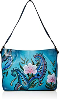 ANNA by Anuschka Hand Painted Leather Shoulder Hobo