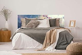Cabecero Cama PVC Flor de Almendro | Varias Medidas 200 x 60 cm | Fácil colocación | Decoración Habitación | Motivos paisajisticos | Naturaleza | Urbes Diseño Elegante