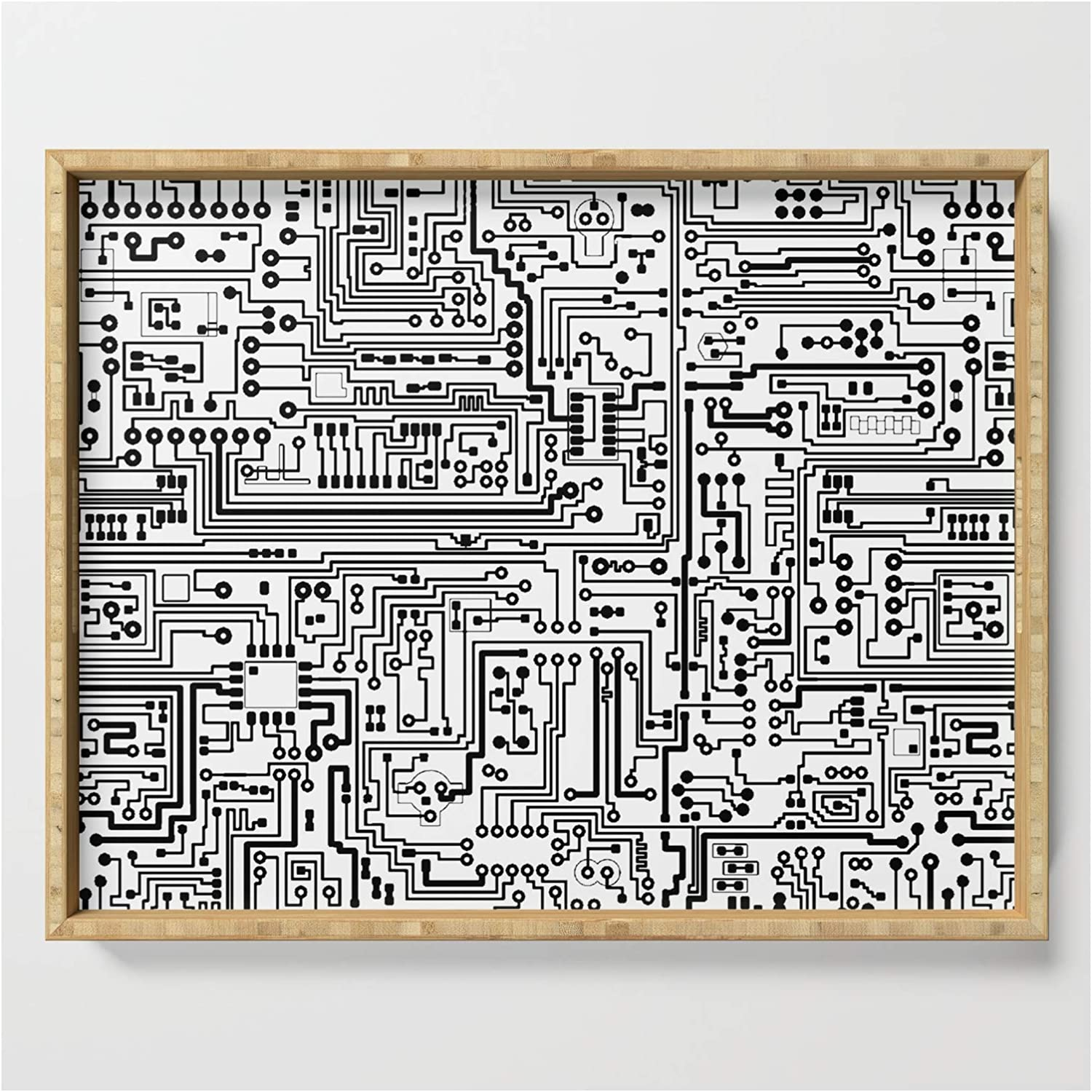 Circuit Board Max 82% OFF by Thin Line Studio Fort Worth Mall on x Serving - 17.5 Tray 22.5