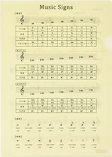 オリジナルクリアファイル 音楽記号ファイル(改訂版) PRSP-4