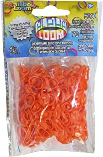 Rainbow Loom Alpha Bands Craft Accessory, Orange