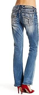 Womens Anzelie Easy Boot Cut Jeans Denim