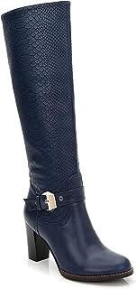 Women's 'Kaunay' Buckle Strap Croc Boots
