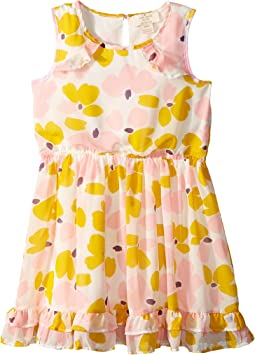 Kate Spade New York Kids - Ruffled Hem Dress (Toddler/Little Kids)