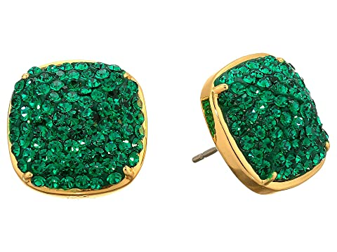 Kate Spade New York Clay Pave Small Square Studs Earrings