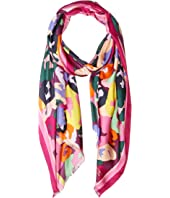Kate Spade New York - Painter Floral Oblong Scarf