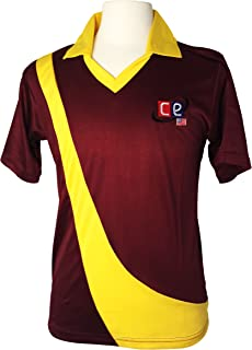 CE West Indies Colored Cricket T-20 Kit Shirts Jersey & Pants Trousers West Indies National Colors (Jerseys Shirts, X-Large)