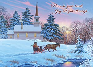 Legacy Publishing Group Boxed Christmas Cards with Scripture, Guiding Light, 20-Count