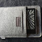 Filz Schutzh/ülle Tasche f/ür Kindle Oasis 2019//2017 E-Reader MoKo 7 Inch Kindle Sleeve H/ülle Kompatibel mit All-New Kindle Oasis 2019//2017 Hell Grau