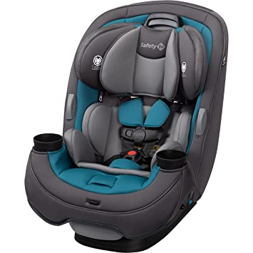 Safety 1st Grow and Go All-in-One Car Seat, Blue Coral: image