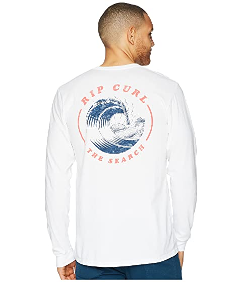 larga Break blanca Premium de Rip Camiseta manga Beach Curl yq7nFx4Rw