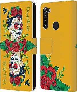オフィシャル Frida Kahlo ミラー アイコンズ Xiaomi Redmi Note 8T 専用レザーブックウォレット カバーケース