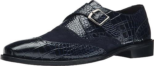 Stacy Adams Men& 039;s Arrico Slip-On Loafer, Loafer, Loafer, Blau Blau Suede, 8 M US  billiger Großhandel